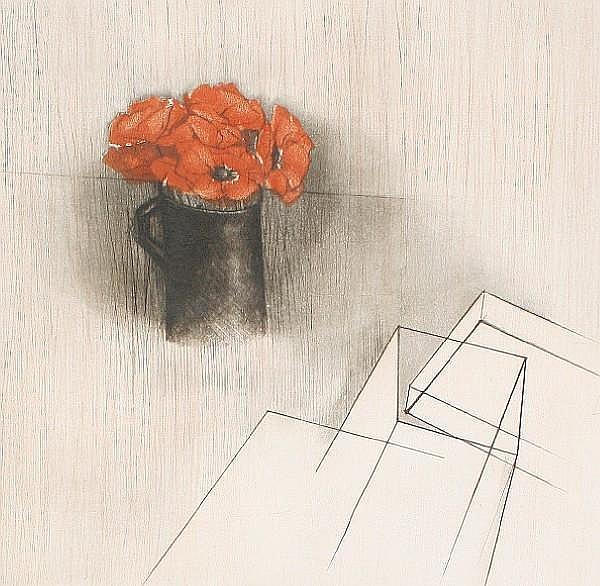 Annapia Antonini (Italian, born 1942) Poppies