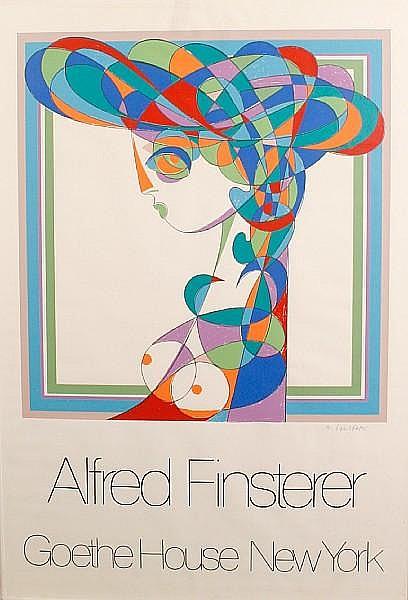 Alfred Finsterer (German, born 1908) 'Goethe House, New York'