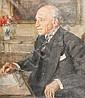 Josef Oppenheimer (German, 1876-1966) Portrait., Joseph Oppenheimer, Click for value