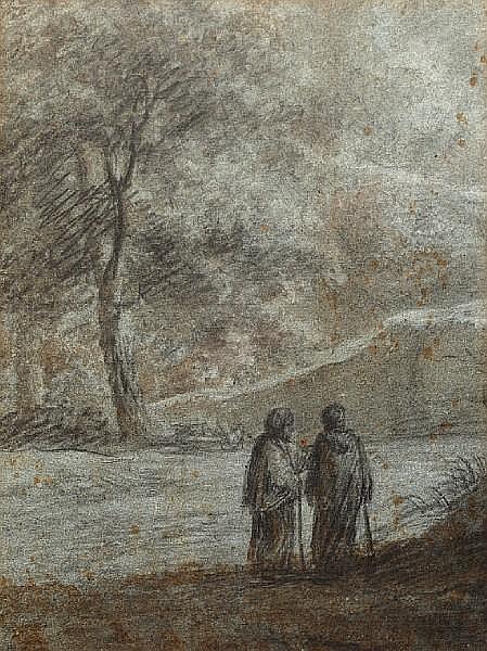 Henri de Braekeleer (Belgian, 1840-1888) La Chaumiere