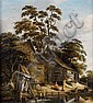 Roelof van Vries (Haarlem circa 1631-1681 Amsterdam) A wooded river landscape, Roelof Jansz.