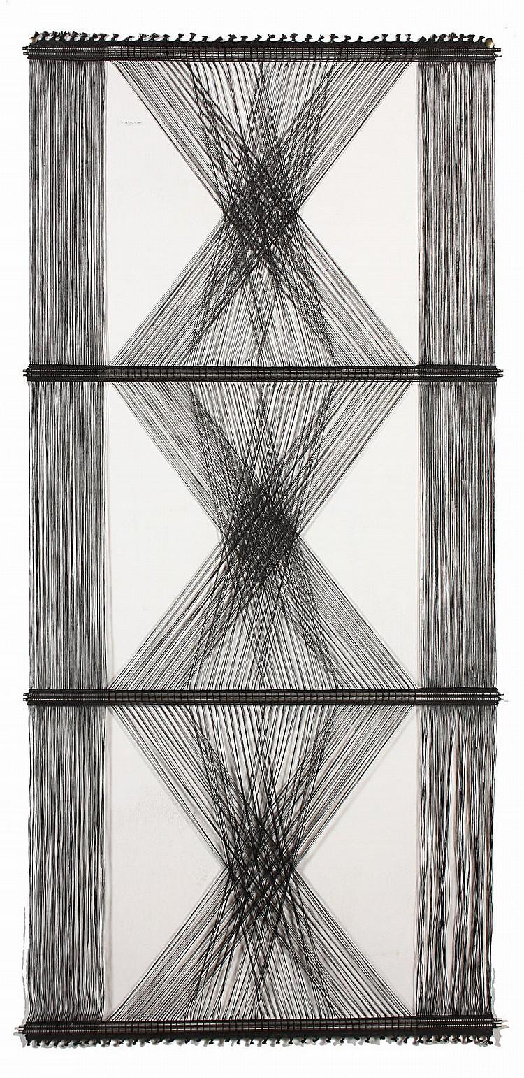 Peter Collingwood (British, 1922-2008) Black Abstract M48, circa 1968