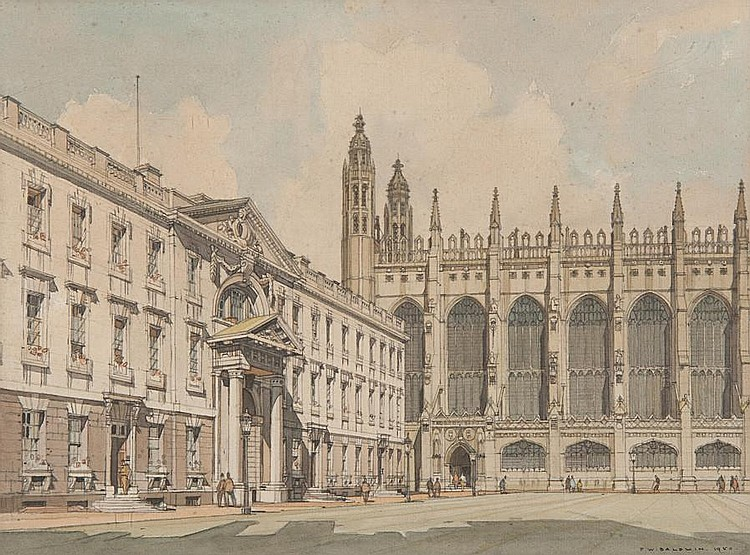 Frederick W. Baldwin (1899-1984) Kings College, Cambridge