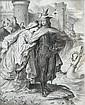 Wilhelm von Kaulbach (German, 1805-1874) The Daparture of Lohengrin, Wilhelm von Kaulbach, Click for value