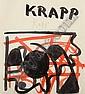 Edmond Xavier Kapp (British, 1890-1978) 'Krapp', Edmond Xavier Kapp, Click for value