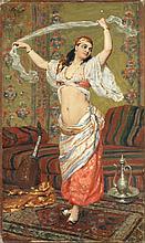 VICTOR-GABRIEL GILBERT (FRENCH, 1847-1935) The dancer signed 'V.Gilbert.' oil on