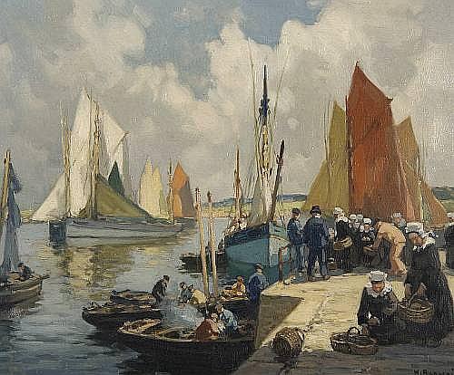 Henri Alphonse Barnoin (French, 1882-1935)