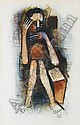 Winston Churchill Masakeng Saoli (South African, 1950-1995) The forgotten son 51 x 33 cm. (20 x 13 in.), Winston Saoli, Click for value