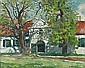Robert Broadley (South African, 1908-1988) Cape Dutch house 41 x 51 cm. (16 x 20 in.), Robert Broadley, Click for value
