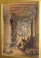 Samuel Read (British, 1816-1883) 'Rosslyn Chapel, with the Apprentices' Pillar', Samuel Read, Click for value