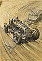Roy Nockolds (1911-1979), three original motoring artworks,, Roy Nockolds, Click for value