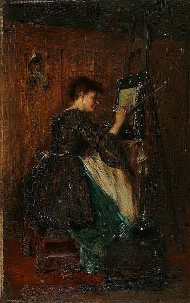 <BR>Anton Laupheimer (German, 1848-1927)