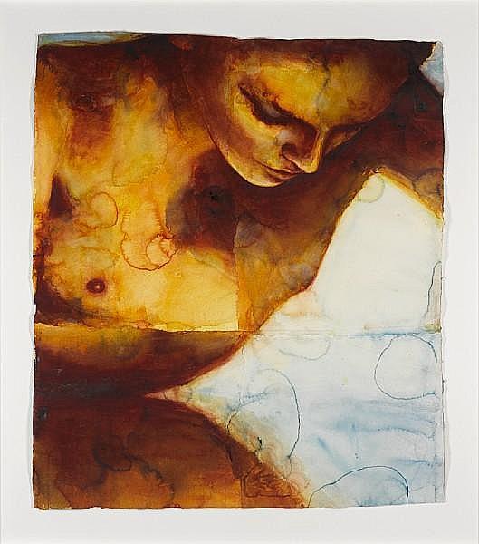 Graham Dean (British, b.1951) 'Nightswimming Two', 2005
