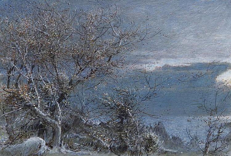 Albert Goodwin, RWS (British, 1845-1932) Equinox