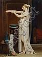 Eugène Verdyen (Belgian, 1836-1903) A Roman bather, Eugène Verdyen, Click for value