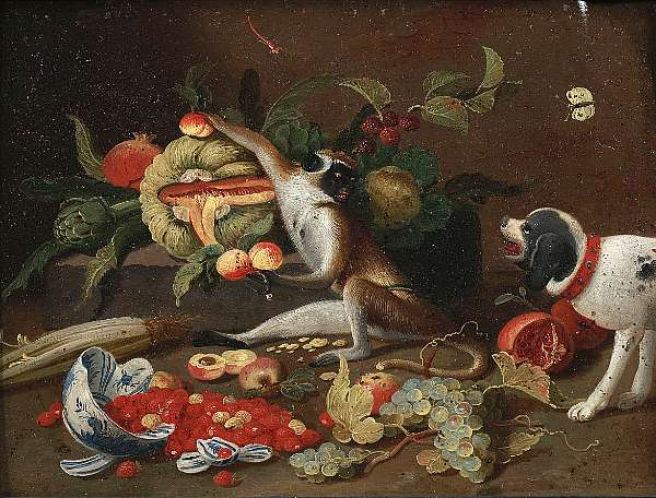 Studio of Jan Van Kessel the Younger (Antwerp 1654-1708 Madrid)