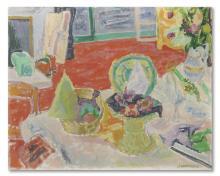 JEAN-JULES-LOUIS CAVAILLÈS (1901-1977) Les cadeaux de Noël, 1949