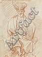 Pieter Pietersz. Lastman (Amsterdam 1583-1633) A seated man wearing a hat, Pieter Pietersz. Lastman, Click for value