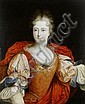 Circle of Pierre Gobert (Fontainebleau 1662-1744 Paris) Portrait of a lady, said to be Louise-Francoise de Bourbon, Mademoiselle de Nantes, half-length,, Pierre Gobert, Click for value