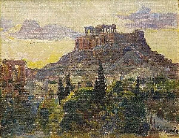 Thalia Flora-Caravia (Greek 1871-1960)