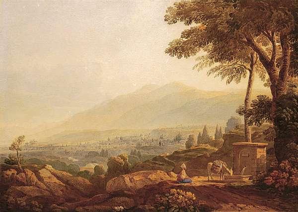 John Varley (British 1778-1842)
