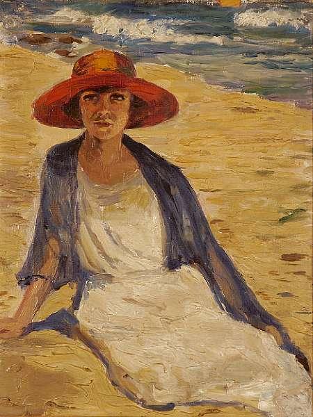Thalia Flora Caravia (Greek 1871-1960)