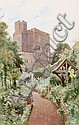 Cyril Ward (British, 1863-1935) Henry III Tower, from Norman Tower Garden, Cyril Ward, Click for value