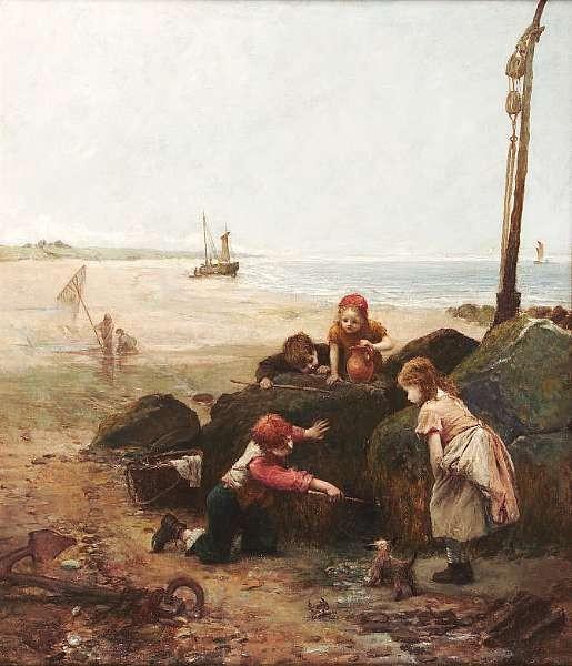 John Burr RBA ROI ARWS (1831-1893)