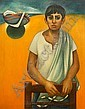 Louai Kayali (Syria, 1934-1978) <br>The Fisherman, Louay Kayali, Click for value