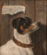 Edmund Caldwell (British, 1852-1930) The optimist monogrammed and dated '81, oil on board 29.6 x 26.2cm