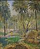* FAEQ HASSAN (Iraq, 1914-1992) Forest Scene Forest Scene, Faik Hassan, Click for value