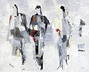CHUCRALLAH FATTOUH (Lebanon, born 1956) Three Women