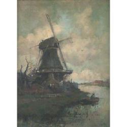 Cornelius Christian Zwaan (Dutch, 1882-1964) 41 x 31cm