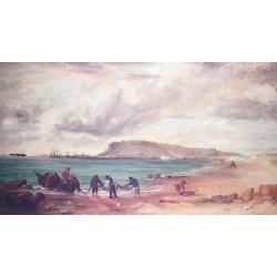 Edward F. D. Pritchard (British, 1809-1905) 74 x 127cm