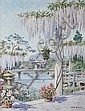 James Greig (British, 1861-1941) 'Japanese Tea Garden',, James (1861) Greig, Click for value