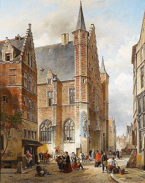 Jan Ruyten (Belgian, 1813-1881)