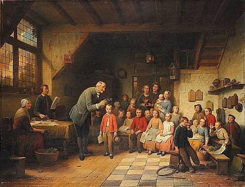 (n/a) Ferdinand de Braekeleer (Belgian, 1792-1883)