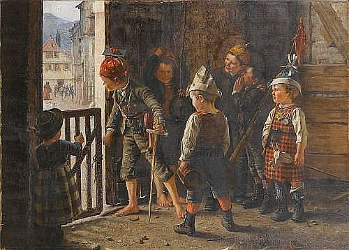 Theodore Kleehaas (German, 1854-1929)