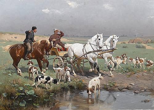 (n/a) Sigismund Ajdukiewicz (Austrian, 1861-1917)