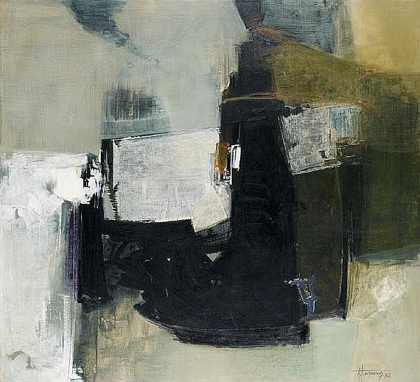 Alecos Condopoulos (Greek, 1905-1975) 99.5 x 109.5 cm.