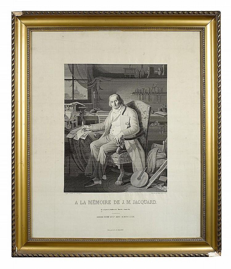 Joseph-Marie Jacquard Artwork for Sale at Online Auction