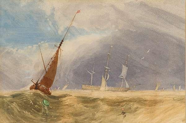 Miles Edmund Cotman (British, 1810-1858)