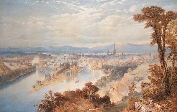 Thomas Charles Leeson Rowbotham N.W.S., (British, 1823-1875)