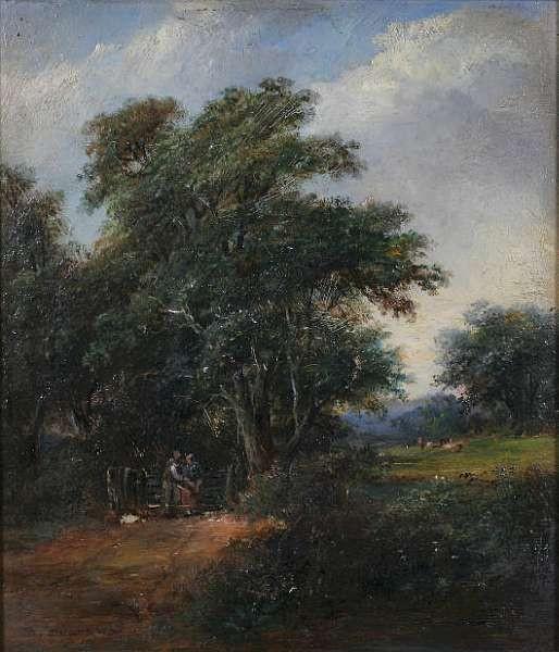 Robert Burrows (1810-1883) British