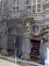 Ernst Graner (Austrian, 1865-1943) Sculptural facade, Vienna