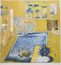 Brett Whiteley (1939-1992) The Cat, 1980
