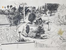 Brett Whiteley (1939-1992) Lindfield Gardens, 1978