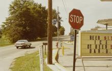 William Eggleston (born 1939); Untitled (Stop sign);