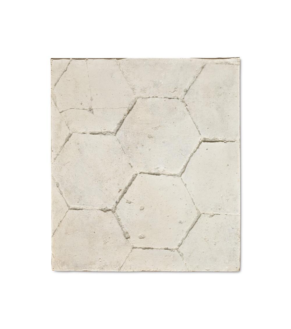 Roy (Wright Royston) Adzak (1927-1988) Texture. Hexagonal terra cotta tiles 1974