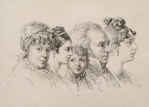 Orest Adamovich Kiprensky (Koporie 1782-1836 Rome)